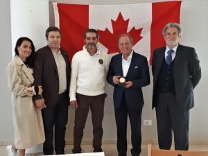 CONCLUSA CON SUCCESSO LA VISITA IN ABRUZZO DEI CANADESI DI HAMILTON  L'incontro della delegazione guidata da Joseph Mancinelli con le municipalità di Fagnano e L'Aquila.