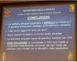 L'ASSEGNO SPECIALE E LA CASSA PREVIDENZA FF.AA. IN DEFAULT.