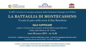 La Battaglia di Montecassino. 75 anni di pace nella terra di San Benedetto.