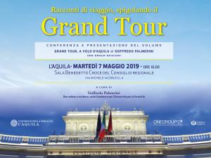 """""""Racconti di viaggio spigolando il Grand Tour"""". Il 7 maggio conversazione di Goffredo Palmerini all'Università per la Terza Età dell'Aquila."""