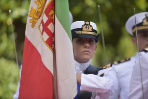 La Cerimonia del passaggio di consegne al nuovo Capo di Stato Maggiore della Marina Militare Italiana.