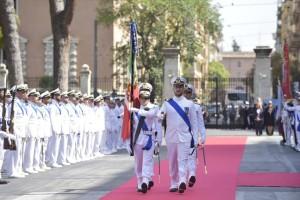 Passaggio Bandiera alla cerimonia.