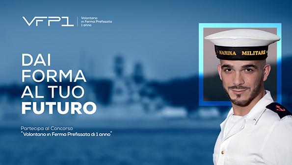 On Line il bando di concorso per VFP1 (volontari in Ferma Prefissata annuale) nella Marina Militare.