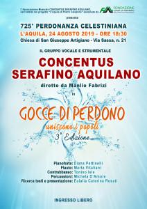 GOCCE DI PERDONO 2019 - Locandina
