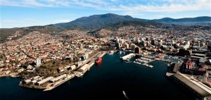 Hobart, baia