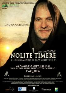 Nolite timere, poster 2019