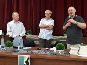 Paolo Di Francesco, con Geremia Mancini e Generoso D'Agnese