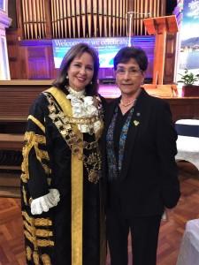 Sue Hickey e Angela D'Ettorre