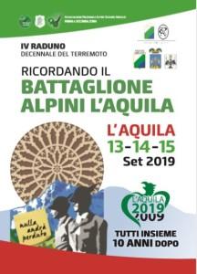 RICORDANDO IL BATTAGLIONE ALPINI L'AQUILA  TUTTI INSIEME 10 ANNI DOPO.