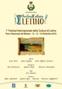 Letino protagonista del 1° Festival Internazionale della Cultura.