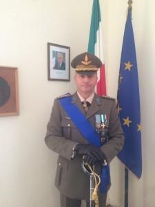 """Prestigiosa nomina al Comando Militare Esercito """"ABRUZZO"""" per il teramano Colonnello Ernesto CORDONI."""
