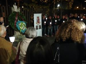 In memoria di Pierluigi Rotta e Matteo Demenego i due agenti di polizia uccisi nella questura di Trieste.
