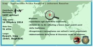 Operazione-Prima-Parthica. Dati On-Line del Ministero della Difesa.