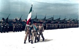 Cambio comandante di battaglione. 10 settembre 1981