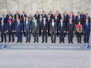 NATO. Riunione dei ministri della Difesa.