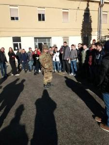 """CME """"Abruzzo e Molise"""". Svolgimento Open Day alla caserma G. Pasquali."""