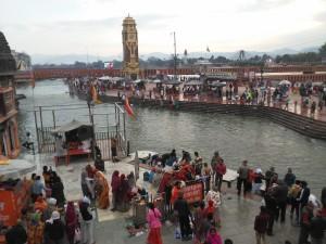 Sacre abluzioni nel Gange
