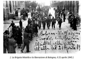 """Il """"Gruppo Patrioti della Maiella""""."""