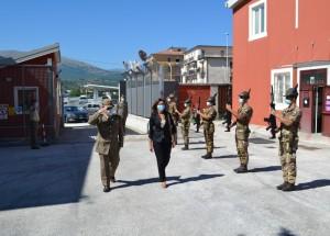 """Comando Militare Esercito """"Abruzzo"""". Visita ufficiale del Prefetto di L'Aquila."""