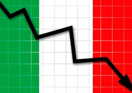 Per l'Italia un Impoverimento del 25 per cento, diseguale.