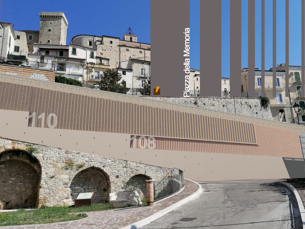 Casoli città della memoria  Un'imponente opera architettonica unica in Europa per  ricordare l'internamento civile fascista (1940-1943) e la Shoah.
