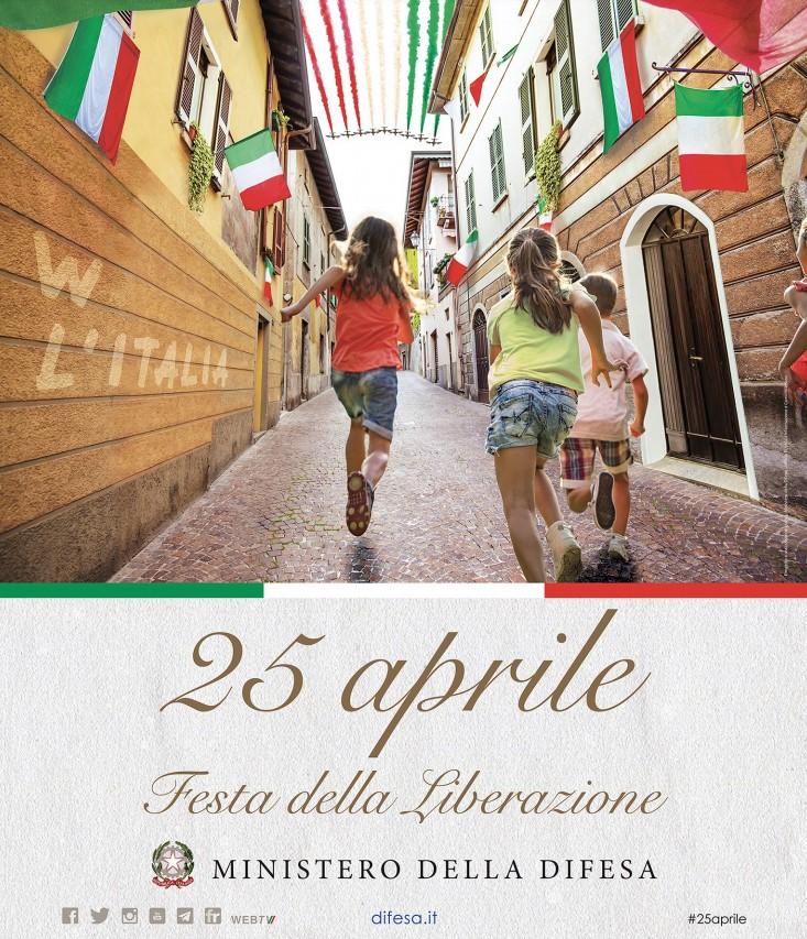 25 APRILE 2021 – 76° ANNIVERSARIO DELLA LIBERAZIONE D'ITALIA.