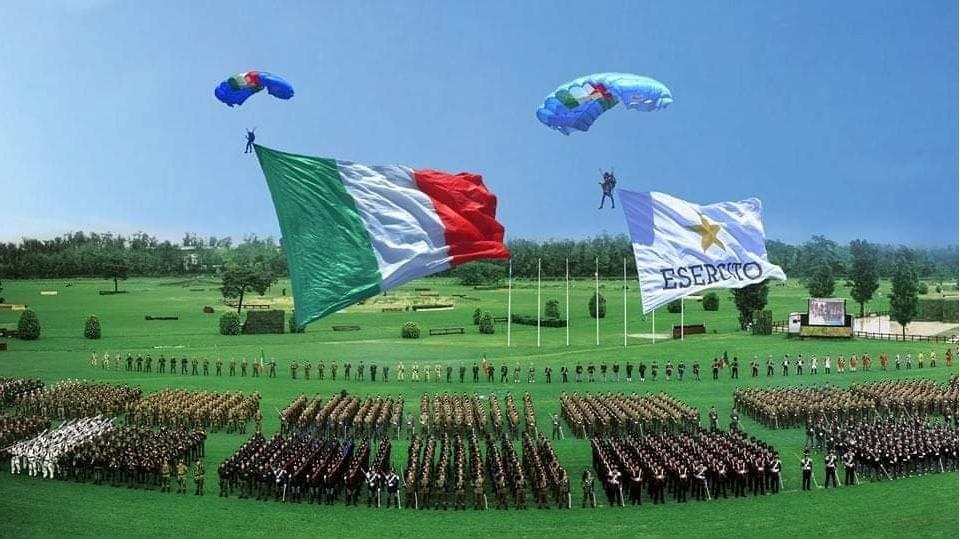 4 maggio 2021, 160° anniversario dell'Esercito Italiano.