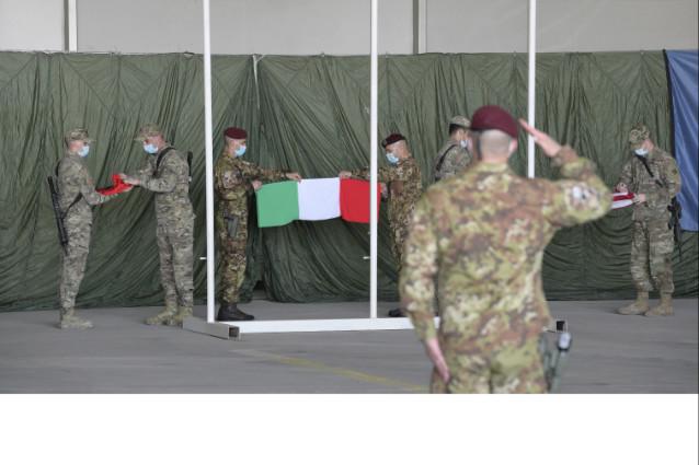 FINE DELLA MISSIONE ITALIANA IN AFGHANISTAN.