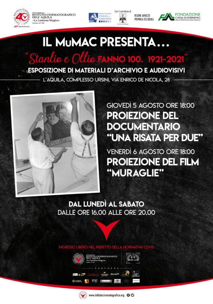 L'AQUILA. IL MuMAC PRESENTA I RESTAURI DI STANLIO E OLLIO