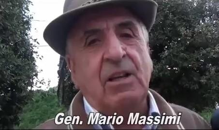 In memoria del Generale Mario Massimi.